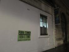 Fora Temer..., Maison de l'Amérique Latine, Paris, 2017